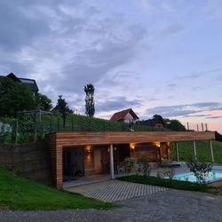 Außenansicht Ferienhaus Weinschlöss'l ©Liebe zur Steiermark