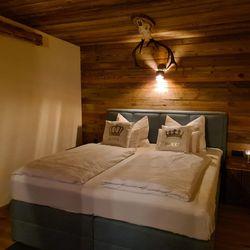 Schlafzimmer Ferienhaus Weinschlöss'l ©Liebe zur Steiermark